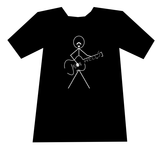 Stick Figure Logo Shirt